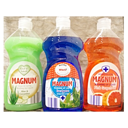 MAGNUM płyn do naczyń antybakteryjny 500ml MIX Aloes, Eukaliptus,Grapefruit
