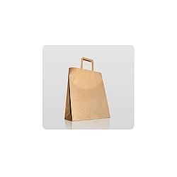 Torebki papierowe brązowe z uchwytem TP 220100280
